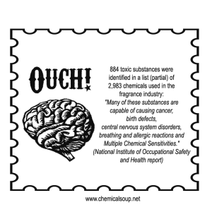 Brain Ouch- The Harmful Effects of Fragrance